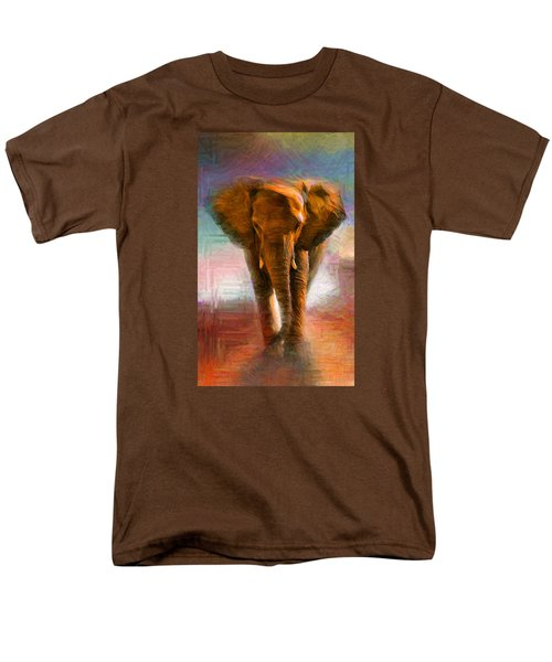 Elephant 1 Men's T-Shirt  (Regular Fit) by Caito Junqueira
