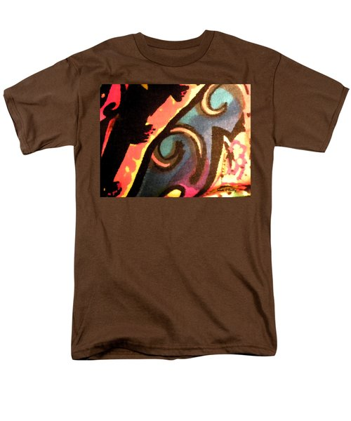Men's T-Shirt  (Regular Fit) featuring the mixed media En Joy Ll by Sandi OReilly