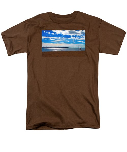 Men's T-Shirt  (Regular Fit) featuring the photograph Endless Sky by Valentino Visentini