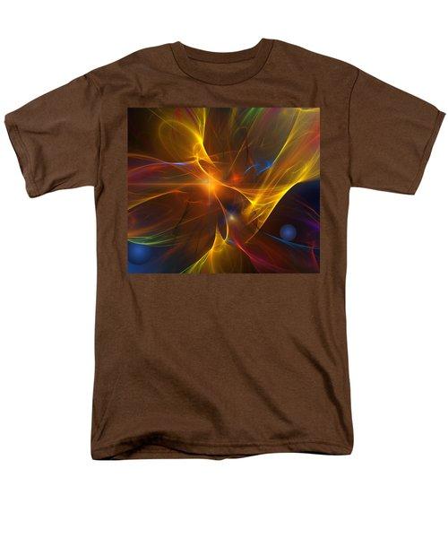 Energy Matrix Men's T-Shirt  (Regular Fit)
