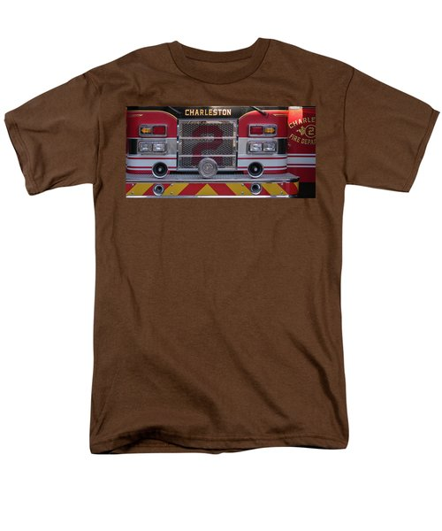 Men's T-Shirt  (Regular Fit) featuring the photograph Engine Number Two by Patricia Schaefer