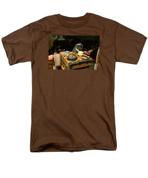 Essentials  From Covered Wagon Men's T-Shirt  (Regular Fit) by Linda Phelps