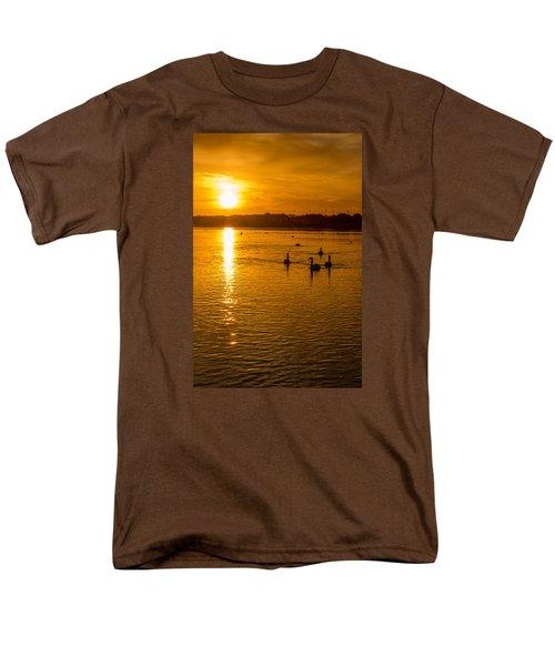Estuary Sunset Men's T-Shirt  (Regular Fit) by Martina Fagan