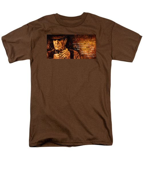 Men's T-Shirt  (Regular Fit) featuring the painting Everybody Knows by Igor Postash