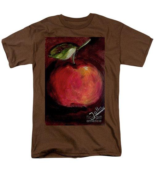 Men's T-Shirt  (Regular Fit) featuring the painting Eve's Apple.. by Jolanta Anna Karolska