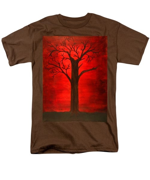 Evil Tree Men's T-Shirt  (Regular Fit) by David Stasiak
