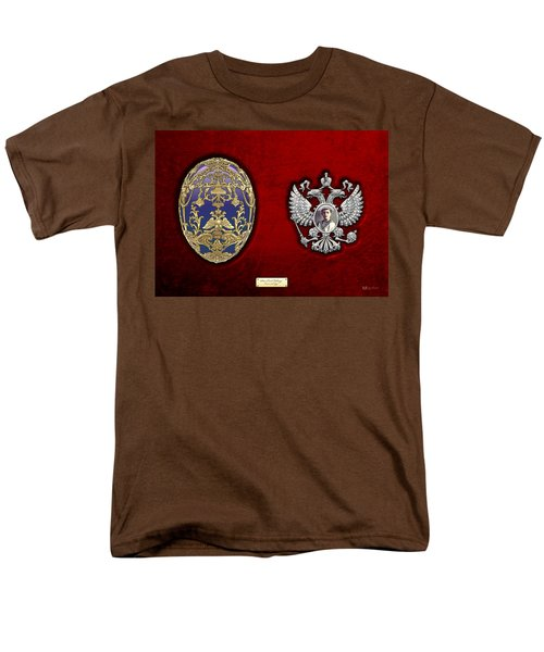Faberge Tsarevich Egg With Surprise Men's T-Shirt  (Regular Fit) by Serge Averbukh