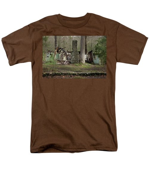 Men's T-Shirt  (Regular Fit) featuring the photograph Fading Into Tomorrow by Mike Eingle