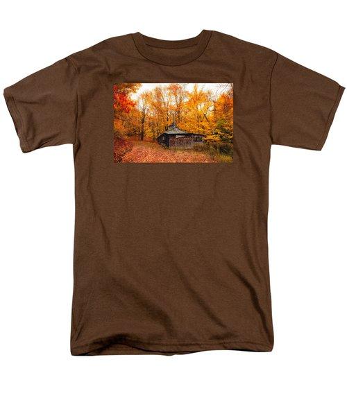 Fall At The Sugar House Men's T-Shirt  (Regular Fit) by Robert Clifford
