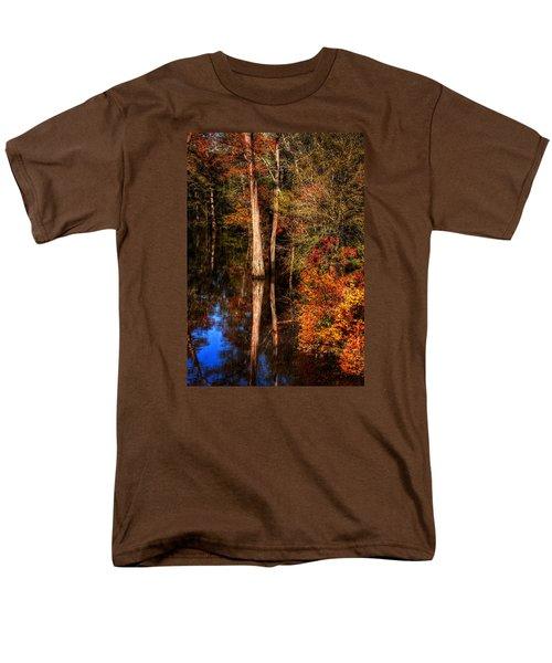 Fall Colors  Men's T-Shirt  (Regular Fit) by Ester Rogers