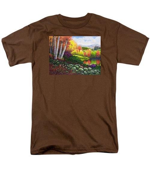Fall Colors Men's T-Shirt  (Regular Fit) by Michael Frank