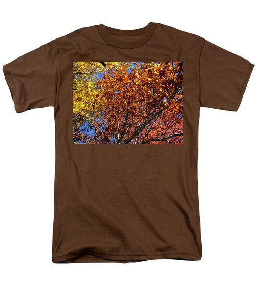 Fall Men's T-Shirt  (Regular Fit) by Flavia Westerwelle