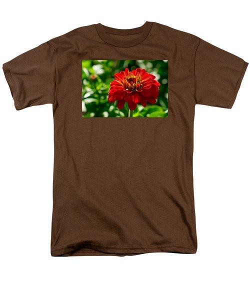 Fall Flower Men's T-Shirt  (Regular Fit) by Derek Dean