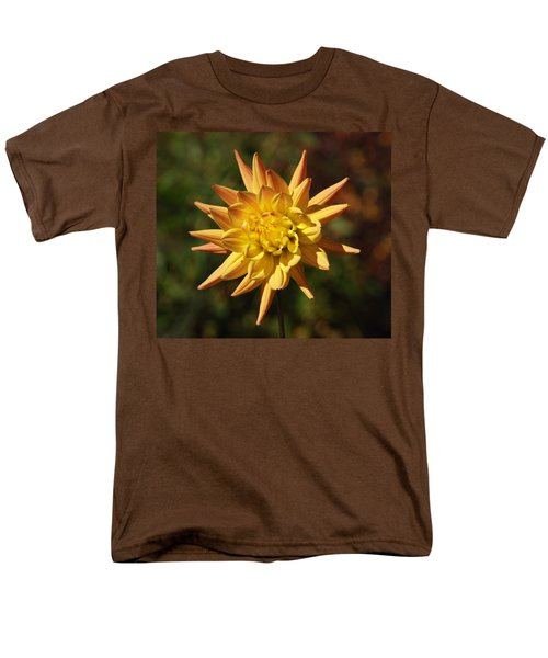 Men's T-Shirt  (Regular Fit) featuring the photograph Fall Flower by Richard Bryce and Family
