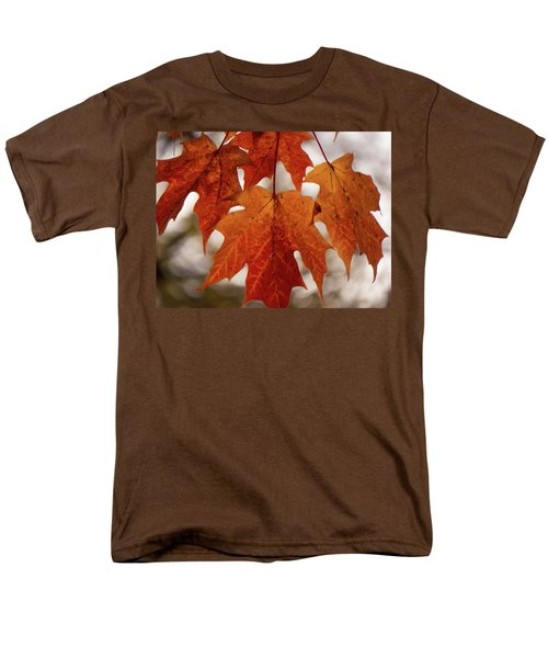 Fall Foliage Men's T-Shirt  (Regular Fit) by Kimberly Mackowski