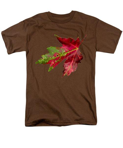 Fall Leaf Men's T-Shirt  (Regular Fit) by Judy Hall-Folde
