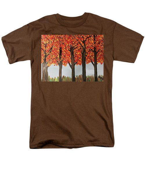 Fall Leaves Men's T-Shirt  (Regular Fit)