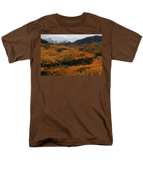 Fall On Full Display At Capitol Creek In Colorado Men's T-Shirt  (Regular Fit) by Jetson Nguyen