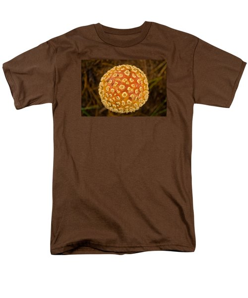 Men's T-Shirt  (Regular Fit) featuring the photograph Fall Orb by Carlee Ojeda