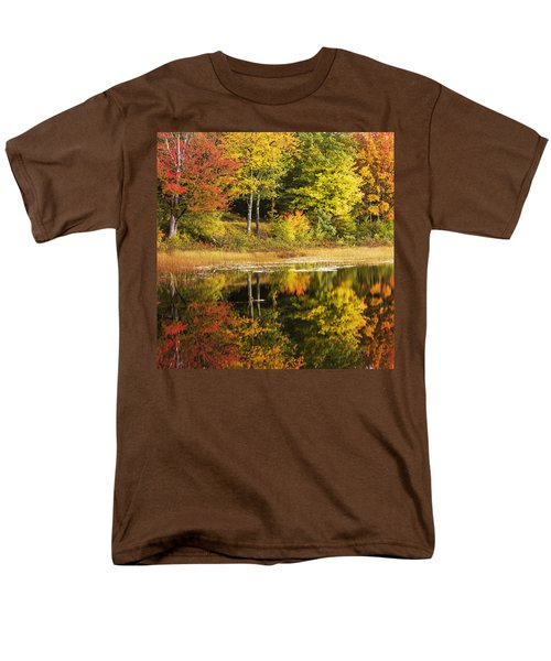 Men's T-Shirt  (Regular Fit) featuring the photograph Fall Reflection by Chad Dutson