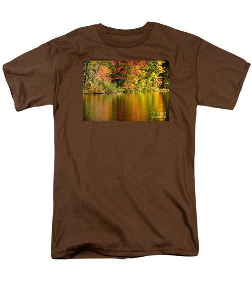 Fall Reflections Men's T-Shirt  (Regular Fit) by Alana Ranney