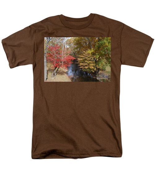 Fall Transition Men's T-Shirt  (Regular Fit) by Eric Liller