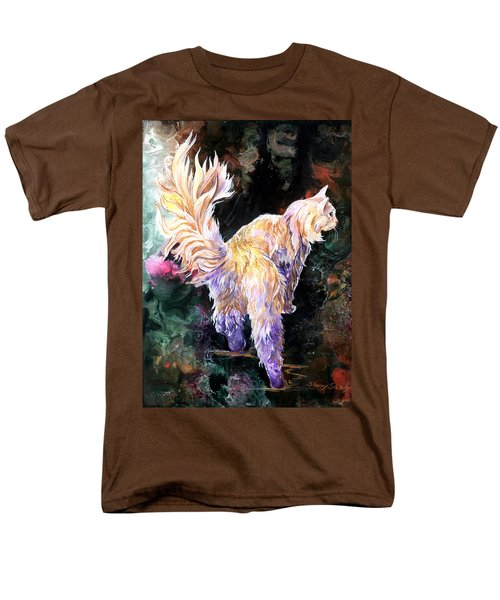 Men's T-Shirt  (Regular Fit) featuring the painting Fancy Britches by Sherry Shipley