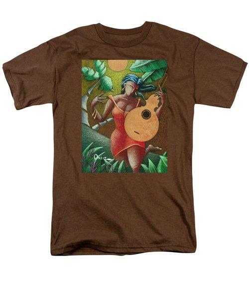 Fantasia Boricua Men's T-Shirt  (Regular Fit) by Oscar Ortiz