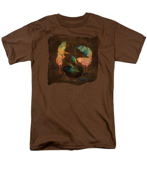 Feathering Their Nest Men's T-Shirt  (Regular Fit) by Terry Fleckney
