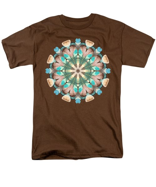 Feathers Men's T-Shirt  (Regular Fit) by Mary Machare