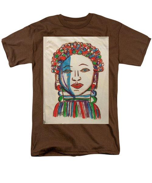 Bondo Mask T Shirt - Sierra Leone Men's T-Shirt  (Regular Fit) by Mudiama Kammoh