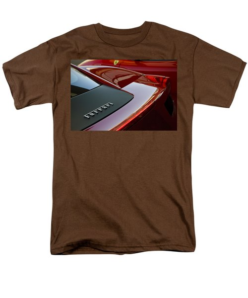 Ferrari Italia Men's T-Shirt  (Regular Fit) by Dennis Hedberg