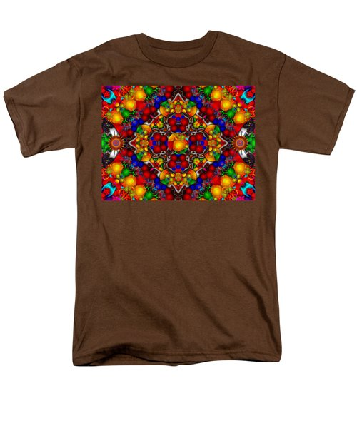 Men's T-Shirt  (Regular Fit) featuring the digital art Festivities by Robert Orinski