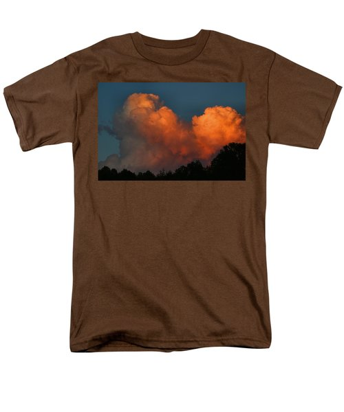 Fiery Cumulus Men's T-Shirt  (Regular Fit) by Kathryn Meyer