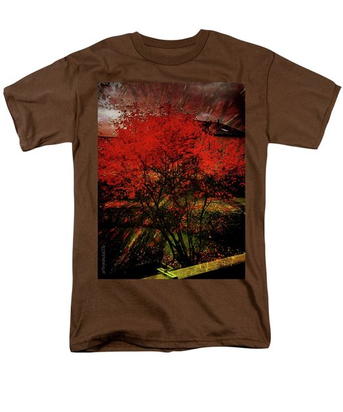 Men's T-Shirt  (Regular Fit) featuring the photograph Fiery Dance by Mimulux patricia no No