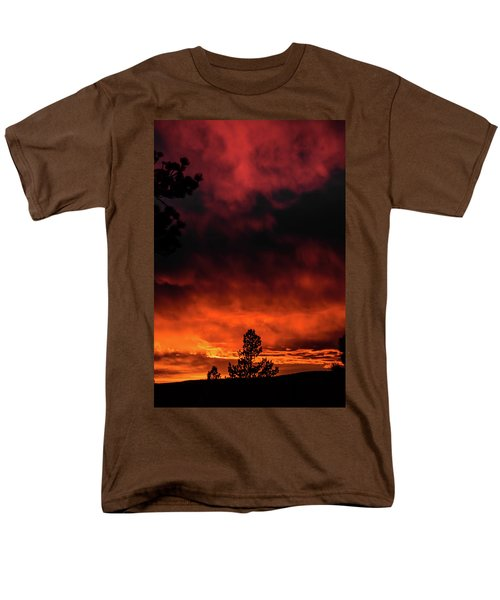 Fiery Sky Men's T-Shirt  (Regular Fit) by Jason Coward