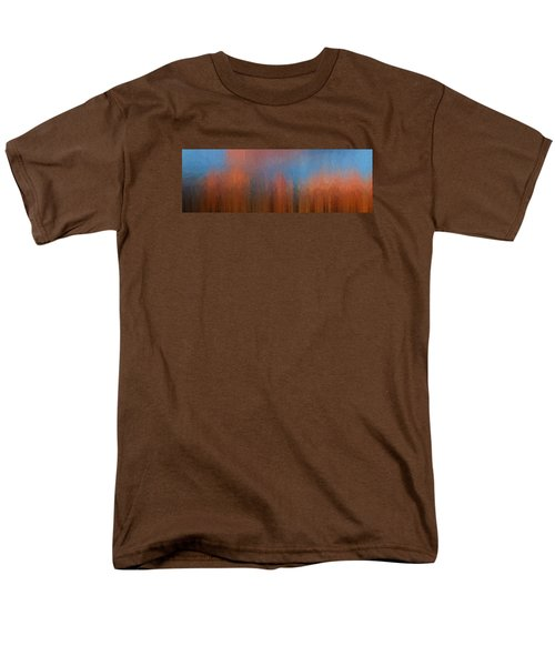 Men's T-Shirt  (Regular Fit) featuring the photograph Fire And Ice by Ken Smith