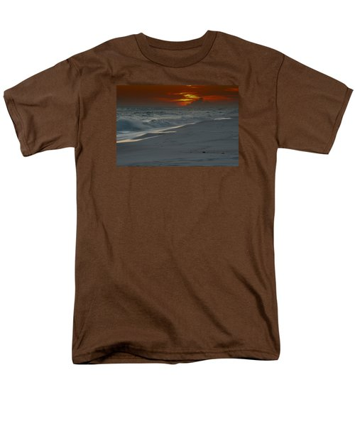Men's T-Shirt  (Regular Fit) featuring the photograph Fire In The Horizon by Renee Hardison