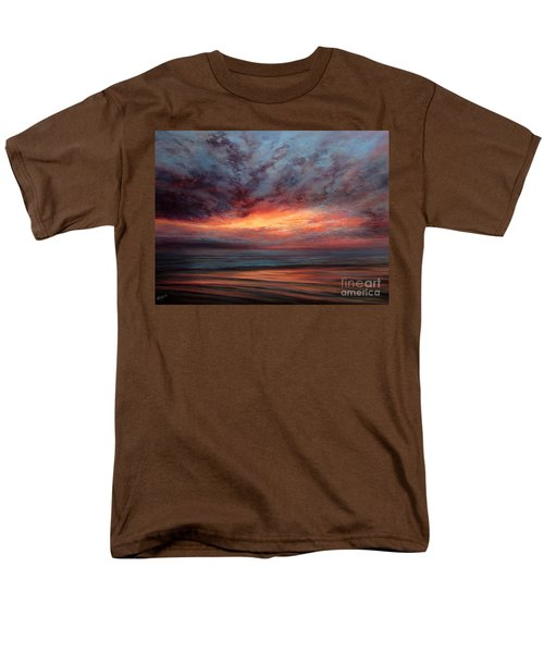 Fire In The Sky Men's T-Shirt  (Regular Fit) by Valerie Travers
