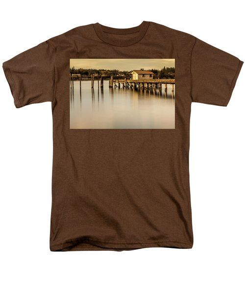 Fishermen Fuel Dock Men's T-Shirt  (Regular Fit) by Tony Locke
