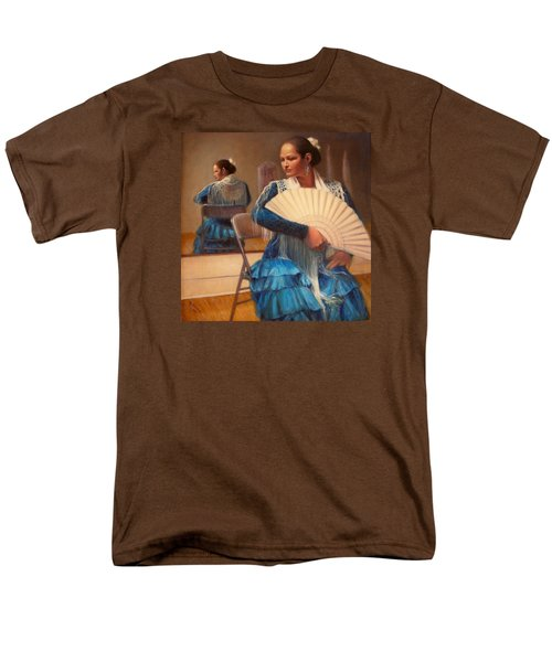 Men's T-Shirt  (Regular Fit) featuring the painting Flamenco 1 by Donelli  DiMaria