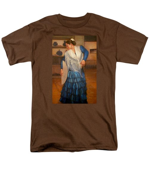 Men's T-Shirt  (Regular Fit) featuring the painting Flamenco 2 by Donelli  DiMaria