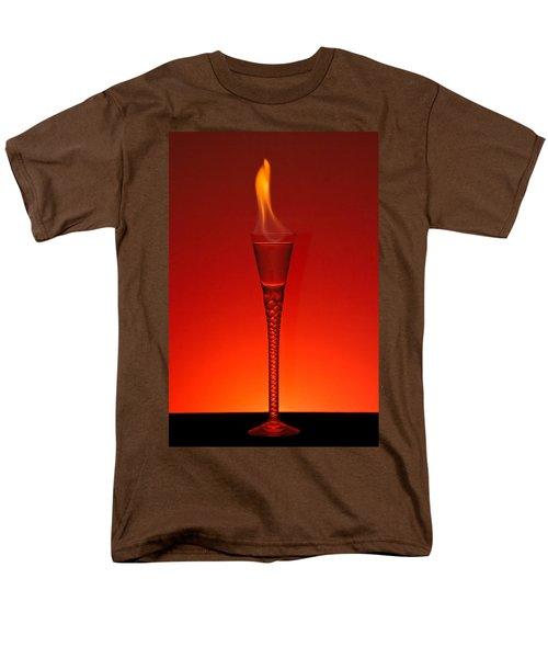 Men's T-Shirt  (Regular Fit) featuring the photograph Flaming Hot by Gert Lavsen