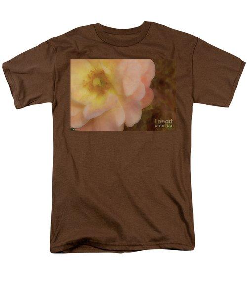Flaming Rose Men's T-Shirt  (Regular Fit) by Phil Mancuso