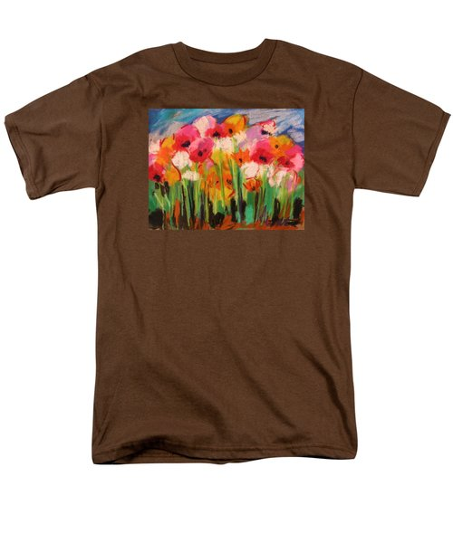 Men's T-Shirt  (Regular Fit) featuring the painting Flowers by John Williams