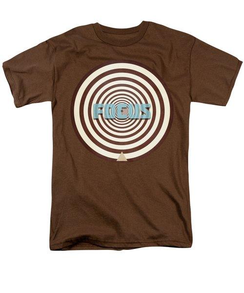 Focus Men's T-Shirt  (Regular Fit) by Phil Perkins