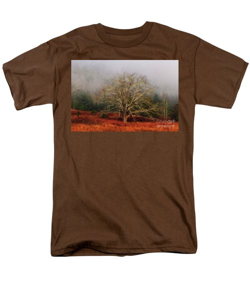 Fog Tree Men's T-Shirt  (Regular Fit) by Geraldine DeBoer