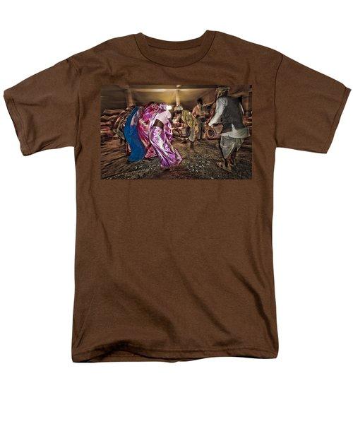 Folk Dance Men's T-Shirt  (Regular Fit) by Hitendra SINKAR