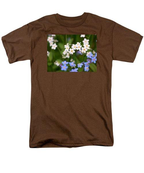 Forget Me Nots Men's T-Shirt  (Regular Fit) by Jouko Lehto