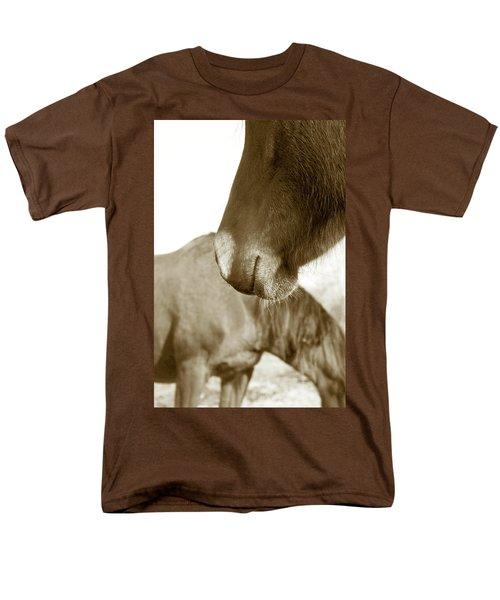 Form Of A Horse Men's T-Shirt  (Regular Fit) by Toni Hopper